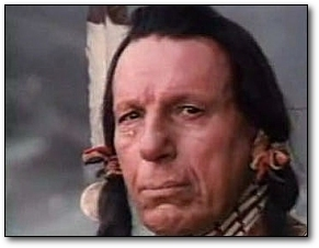 crying native american