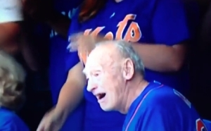 """I can't believe the Mets actually scored some runs."" -Grandpa Matz"